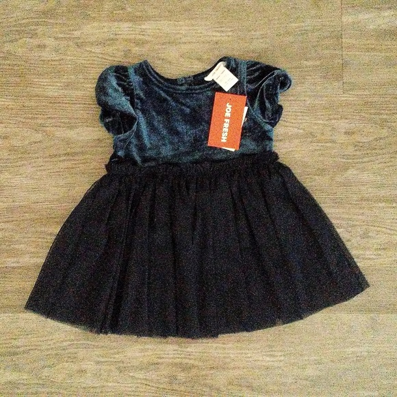1b2905edb81d Joe Fresh Dresses | Nwt Baby Girl Velvet Dress | Poshmark